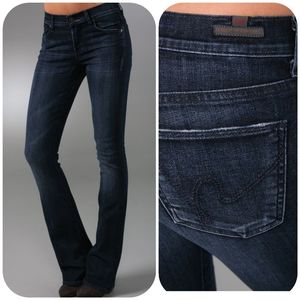 COH Amber Distressed Mid-Rise Bootcut Jeans 28